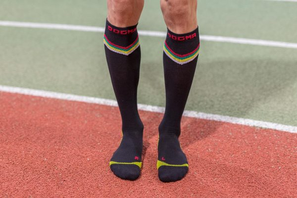 dogmasocks run the gazelle black v stripe full picture