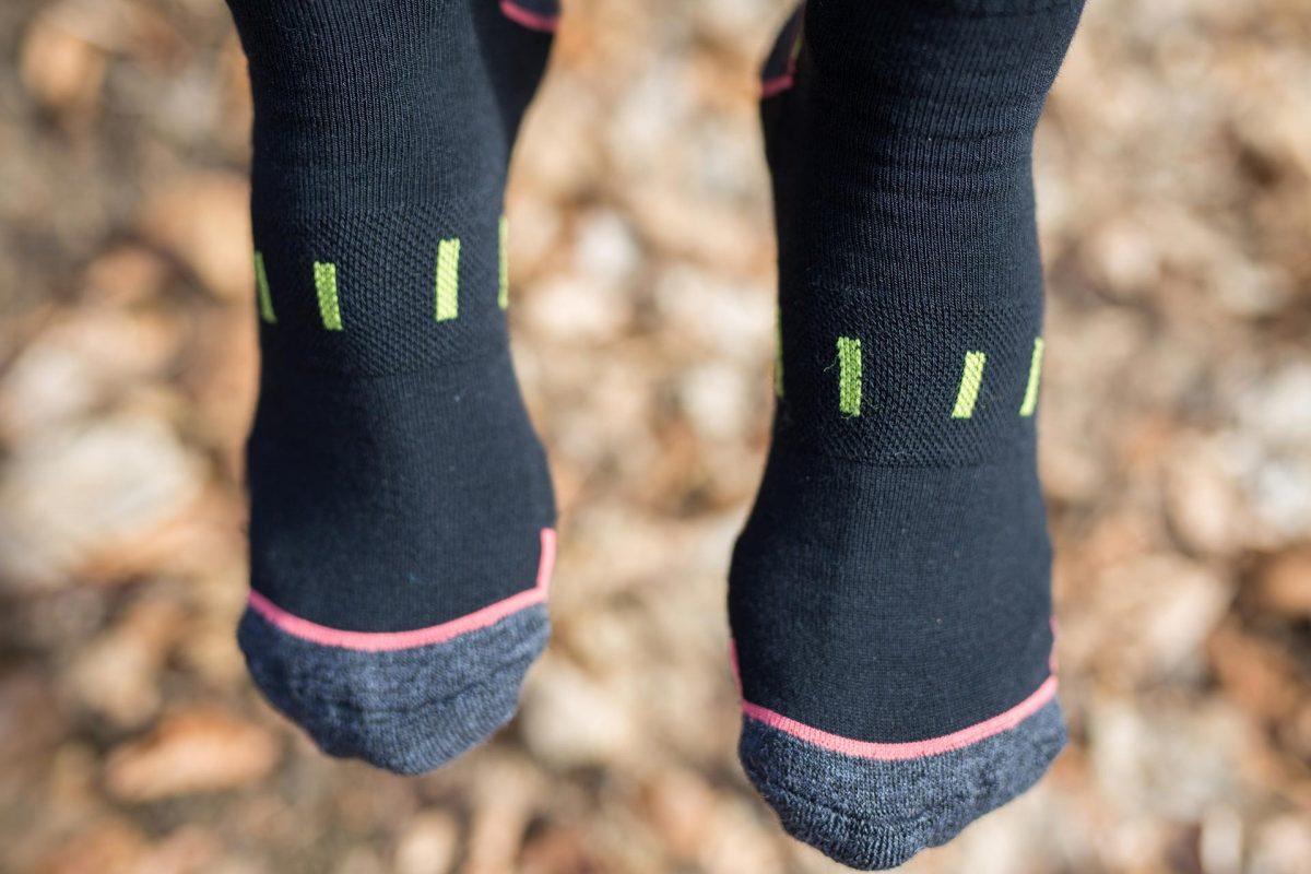 Dogmasocks hiking mountain goat woman socks