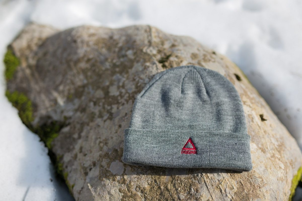 Dogmasocks winter beanie in grey
