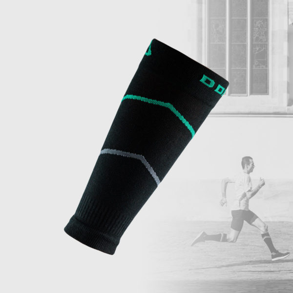 black compression sleeves with small details